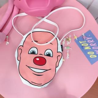 可愛小丑側背包➰