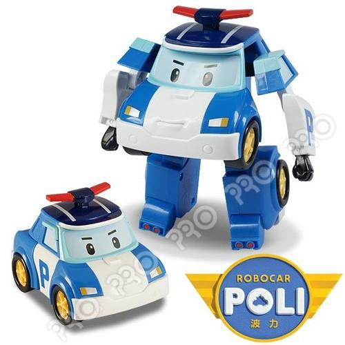 《POLI 波力》變形車系列-LED閃燈 5吋變形波力