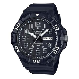 【宏崑時計】CASIO卡西歐 10BAR 大表面 防水指針錶 MRW-210H-1A 台灣卡西歐保固一年