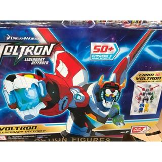 (卡司 正版現貨)美版  Playmates VOLTRON 五獅合體 聖戰士 百獸王