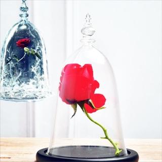 美女與野獸玫瑰鐘