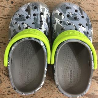 正品CROCS兒童拖鞋涼鞋