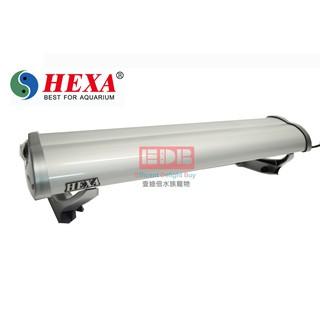 【HEXA】大劍龍時尚燈具T8 2尺20W/2燈(含燈管)-適用魚缸長度57-70CM