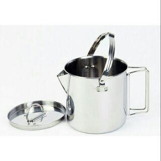 茶壺鍋 不鏽鋼茶壺 個人鍋 直火茶壺 水壺 野炊 戶外 露營 鍋具