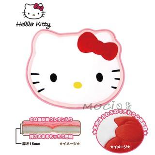 日本正版 HELLO KITTY 凱蒂貓 地墊 腳踏墊 大臉居家地墊【MOCI日貨】