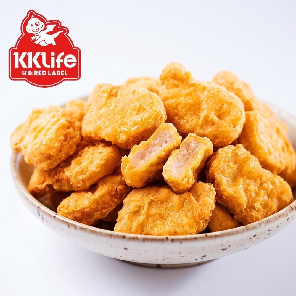 【KKLife-紅龍】經典原味雞塊 (500gx2包-2包/袋)