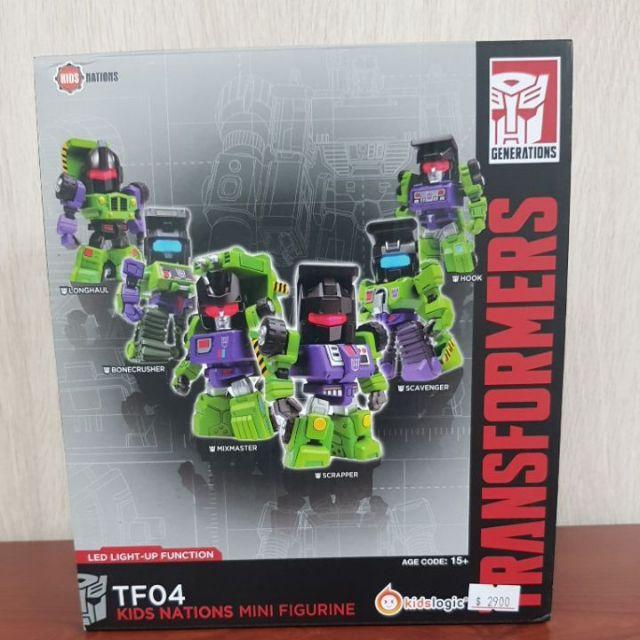 變形金剛 Transformers KIDS LOGIC TF04 G1Q版公仔 大力神