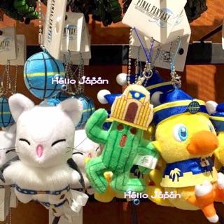 大阪環球影城 陸行鳥 莫古利 珠鏈吊飾娃娃
