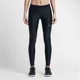 全新Nike運動緊身壓力褲 高度支撐 訓練排汗跑步 黑色dri fit 719785