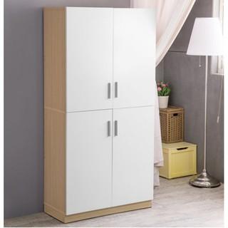 北歐 廚房收納 斗櫃 置物櫃 櫃子 收納櫃【N0050】吉雅雙門收納廚房櫃 MIT台灣製
