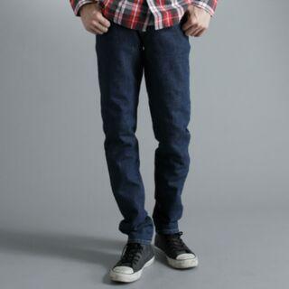 EDWIN 503 FLEX 窄管牛仔褲-男款 酵洗藍