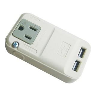 商品編號040 新格牌 單座 3孔+2USB (2A) 擴充插座 SN-013U #YHC消費 #YHC家電