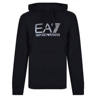 Emporio Armani EA7黑色帽T