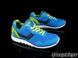 PONY Splash 寶藍 螢光綠 透氧O2 輕量慢跑 男 %23 52M1SP62RB