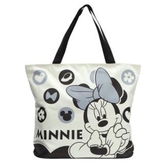 日本購入 迪士尼 米妮超大 肩背/手提 帆布袋環保袋 出清價