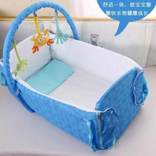 嬰兒折疊寶寶床遊戲床igo【蘇迪蔓】