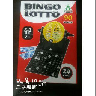 ☆★☆Ru&10二手雜鋪★☆★  BINGO LOTTO BINGO轉轉樂 全新 適合全家遊玩