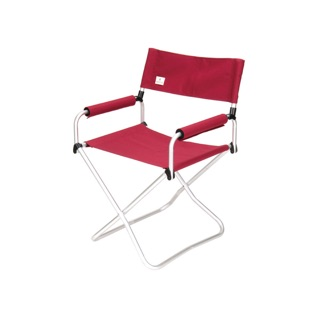 Snow peak 折疊椅-寬版紅