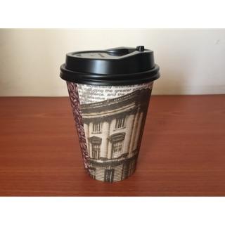 咖啡杯含杯蓋 12oz(360cc) 50杯一組 紙杯 熱飲杯 耐熱杯 冷熱杯