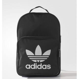 Adidas original Classic Trefoil Backpack 愛迪達 三葉草 後背包 黑 白 藍 白