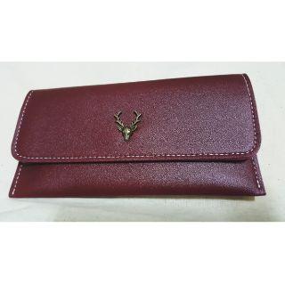 [全新]女款復古小鹿簡約長夾