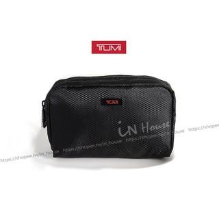 Idalza 美國TUMI X DELTA 達美航空頭等艙旅行過夜包黑色盥洗包化妝包收納