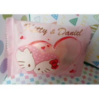 Hello kitty朝露玫瑰麝香造型香皂/KT香皂