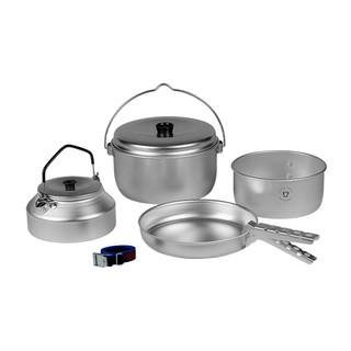 【瑞典Trangia】400240 套鍋+煎盤+水壺+活動把手