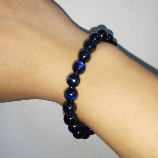 超深色藍晶石手珠