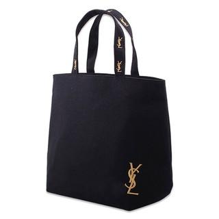 外貿YSL 刺绣手提袋手提包帆布袋帆布包化妝包包包 袋