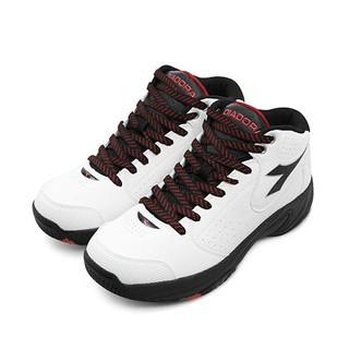 【DIADORA】 迪亞多那 專業經典2E寬楦籃球鞋 絕地悍將系列 白黑紅 5529 男