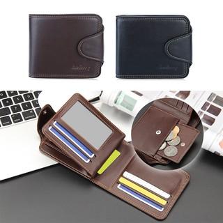 現貨精品時尚新品男士車縫線橫款錢包零錢包相片卡包手拿包