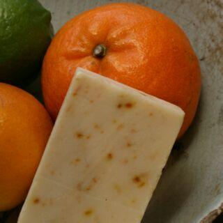 茶山房 免運費 清新柑橘天然手工皂