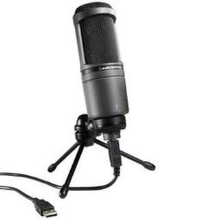 Audio Technica鐵三角 AT2020USB 電容話筒唱吧電腦主播麥克風#
