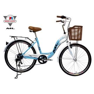 新莊風馳~~ML-173A台灣美騎樂自行車 24吋7速淑女車/ 通勤車 台灣組裝 腳踏車~~u-bike