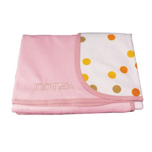 [COTEX 可透舒] 幼兒防尿毯-粉紅