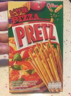 glico 固力果 PRETZ 比薩、玉米風味 餅乾棒
