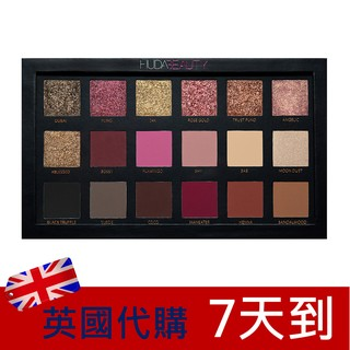 HUDA BEAUTY眼影盤Textured Shadows Palette Rose Gold Edition