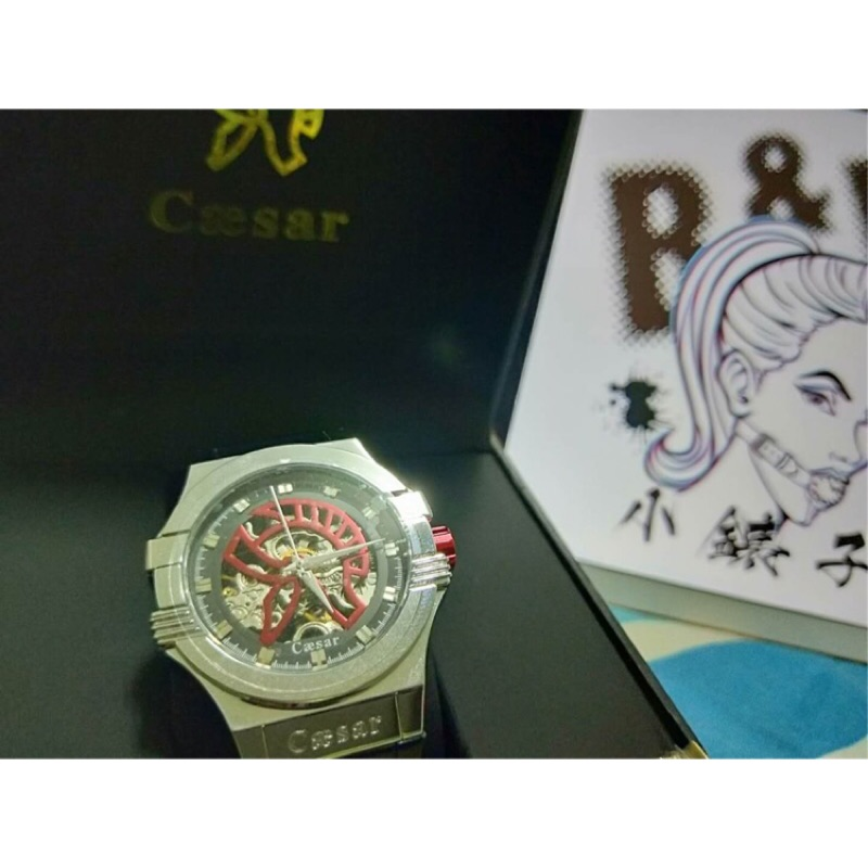 〈現貨〉Caesar凱撒機械錶 保證正品 仿冒包退 保固一年 有官方授權書