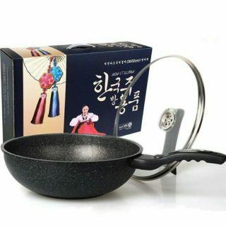 韓國kitchen art 麥飯石不沾炒鍋