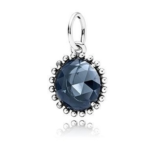 Chris美國代購2015 Pandora 潘朵拉 925純銀 黑瑪瑙 Black Onyx Pendant