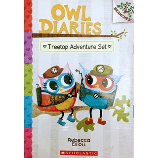 OWL DIARIES TREETOP ADVENTURE SET 5 Bbooks+5CD (ODTA)