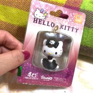 Hello Kitty 奧黛麗赫本手機吊飾