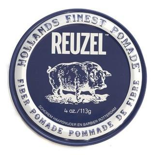 REUZEL FIBER POMADA 黑豬 纖維低光澤髮蠟 4oz