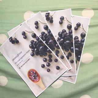 Innisfree 鮮榨面膜 - 巴西莓acai berry