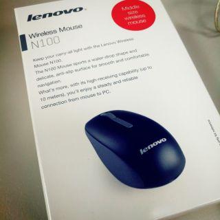 Lenovo N100 無線光學滑鼠