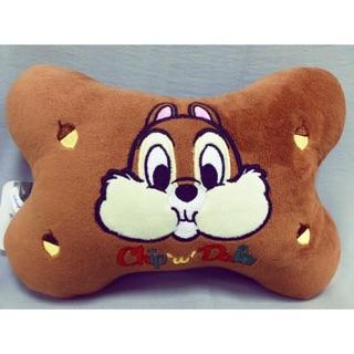 迪士尼奇奇蒂蒂骨頭枕 奇奇&蒂蒂 骨頭枕 車用配件 一對販售