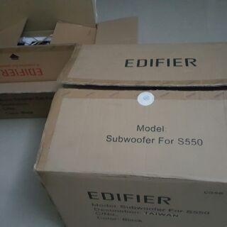 EDIFIER S550 重低音喇叭 漫步者 5.1聲道