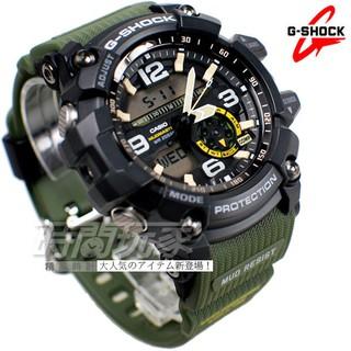 G-SHOCK 極限 電子錶 軍事綠 GG-1000-1A3 CASIO卡西歐 運動錶 軍錶 溫度測量【時間玩家】