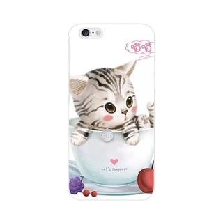杯子貓咪 HTC 728/825/830/10pro/10evo 手機殼 HTC 空壓殼 茶杯貓 咖啡杯 點心